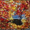 "Festival of Fall Colours cattim_645_20 28 1/4"" x 35 1/2"" (71.5cm x 90cm) $700.00"