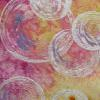 "Bubbles cattim_407_16 39 1/2"" x 16"" (100cm x 40cm) Juried into ""A Matter of Time"" Australia http://www.amatteroftimetextiles.com/"
