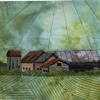 "Valley Barns #2 cattim_521_17 10"" x 10"" (25.5cm x 25.5cm)"